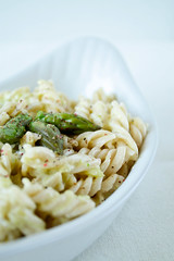 Heavy cream and asparagus pasta (floridecires) Tags: recipes
