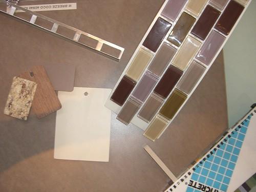 Main bathroom colours