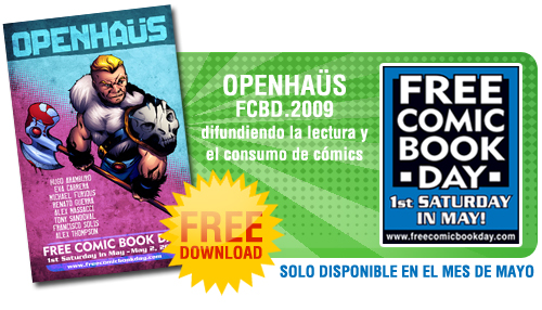 OPENHAUS FCBD 2009