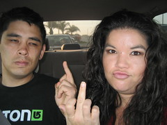 f*ck you! (_melika_) Tags: ocean family beach mom pier video education dad brother weekend graduation ceremony visit surprise huntingtonbeach mothersday hangingout vanguard surfcity melika huntingtonbeachca huntingtonpier vanguarduniversity christiancollege thefairgrounds
