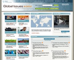 Global Issues in Context home page