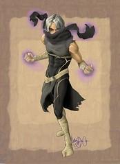 Prince Shade (TurbulenceComic) Tags: hero superhero turbulence gravnos princeshade