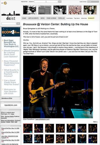 Springsteen - DCistweb