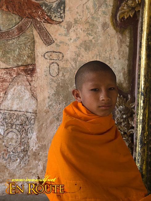 Wat Long Khun Young Monk