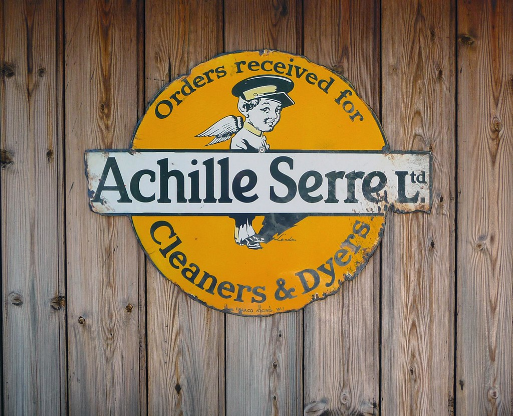 achille serre : 100 years of drycleaning