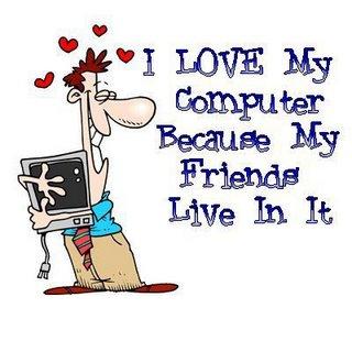 prieteni si calculator