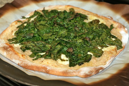 Greens & Beans Pizza