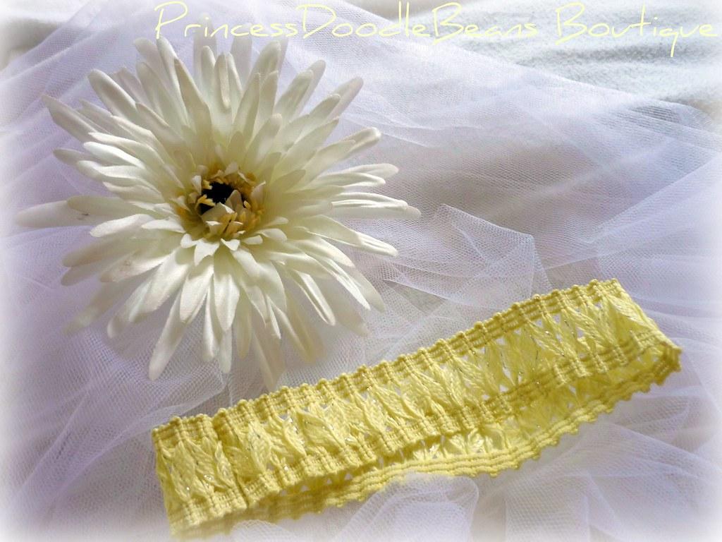 detachable flower headband