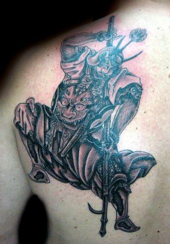 Tatuaje Samurai Pupa Tattoo Granada