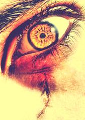 sometimes i feel my self better in a devil look (Mouin.M) Tags: orange look scary eyes evil eerie spooky burn freak horror devil scare hdr chucky vampir pupille