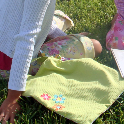 Summer Towel Tote