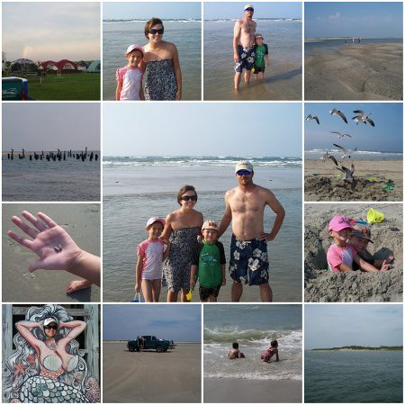 Ocracoke Collage