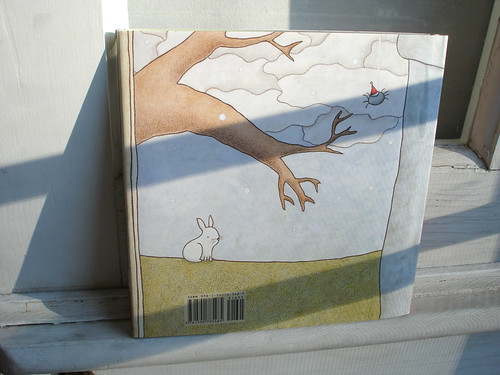 actual book, back