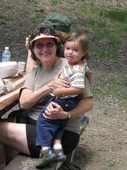 IMG_3642 (jhdiddle) Tags: camping picnic nana cheri girlscouts soren jacksonlake june2009 jacksonflat
