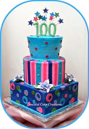 Happy 100th Birthday Cake