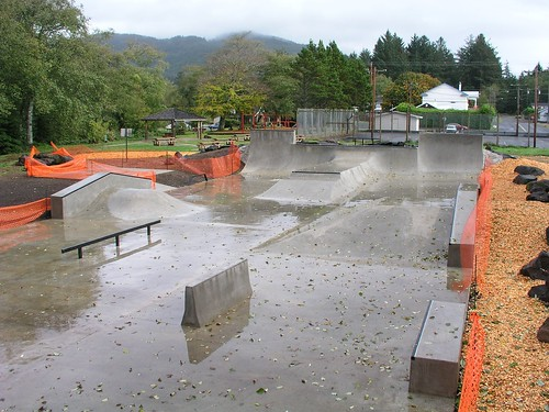 Bay City, Oregon skate park