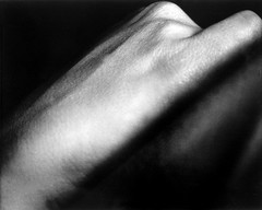 Rock/hand (J Kane) Tags: blackandwhite contrast skin body
