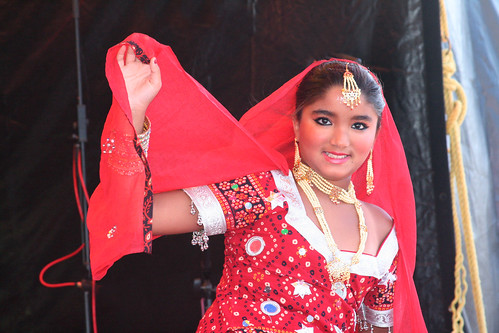 Traditional Indian Dancer
