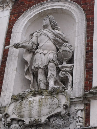 The Guild Hall - Windsor - Statue of Prince George of Denmark