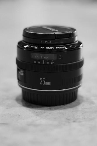 EF 35mm f/2 lens