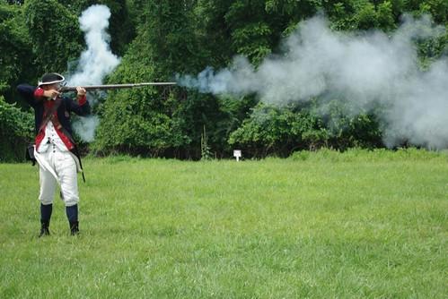 Obligatory Musket Shot Shot