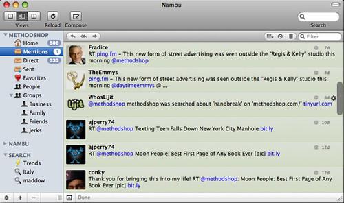 Nambu Twitter Client for Mac [review]
