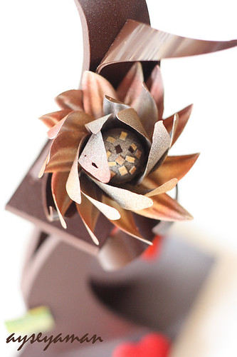 Knife Dipped Chocolate Flower