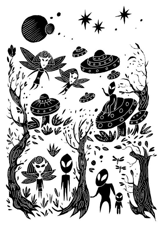 Fairies and Aliens