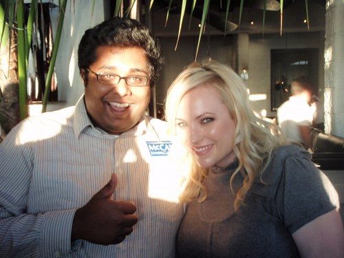 meghan mccain twitter picture. Andrews with Meghan McCain
