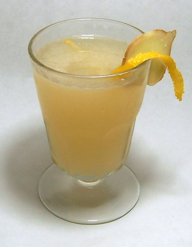 Fiery Citrus Cocktail