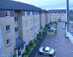View From A Window (Grey Hamster) Tags: uk panorama house building home skyline scotland edinburgh flat path sony 350 alpha dslr a350 ashowoff