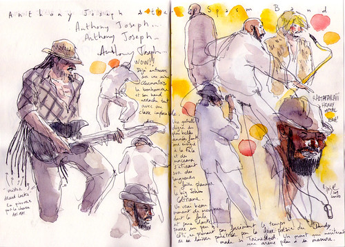 Festival Drawings Anthony Joseph The Spasm