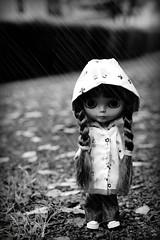 Rain Drops Keep Falling on her Head