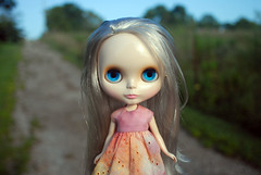 miss matilda on a country road