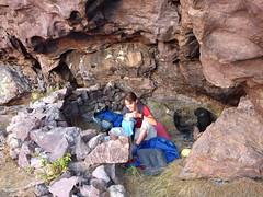 Campu di Vetta : préparatifs de bivouac