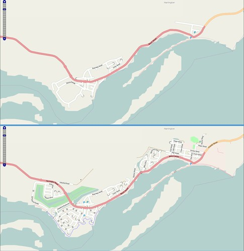 screenshot map australia cartography nsw mapping harrington openstreetmap