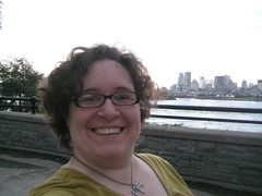 Me with Skyline (zephrene) Tags: montreal anticipation worldcon