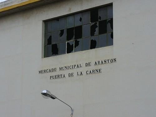 MERCADO MUNICIPAL DE ABASTOS - PUERTA DE LA CARNE