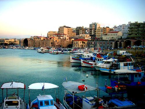 Porto Heraklion, Creta