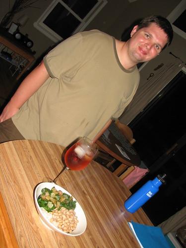 grant ready for dinner