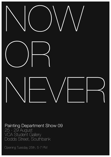 Now or Never Group Art Show
