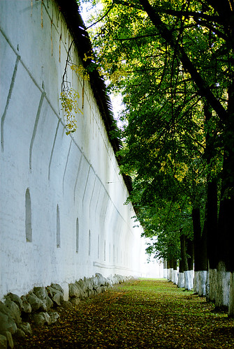 The Wall of Spasso-Preobrazhenskiy monastery