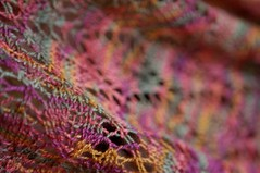 It's all in the detail (KimFearheiley) Tags: knitting lace lornaslaces handknit leaflaceshawl handknitlace kimfearheiley