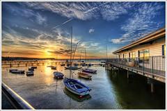 136/365 - HDR - Poole.Sunset.Sandbanks.@.1150x766 (Pawel Tomaszewicz) Tags: light sunset shadow wallp