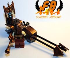 Steampunk Speeder (Brick Mercenaries Custom Minifigures) Tags: amazing lego mini creation figure custom armory minifigure moc brickarms brickforge