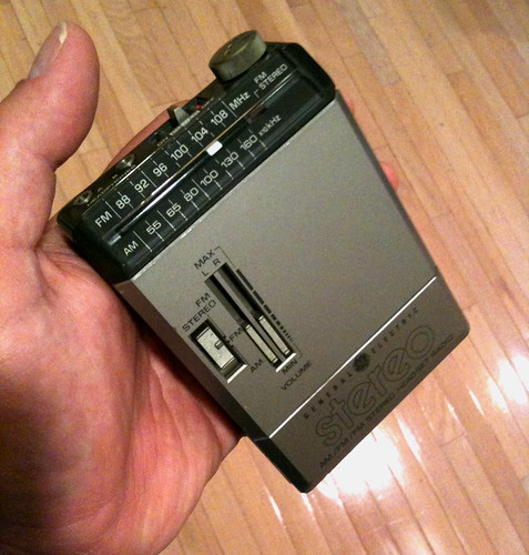 "my first ""walkman"" - from 1984"