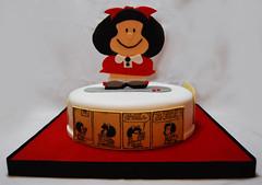 Mafalda (Mariana Pugliese) Tags: blanco gris rojo negro feliz cumpleaños viñeta torta mafalda diario quino lapicera 241543903 marianapugliese pugliesem tortasdemariana lavidacomienzaalos40 ¡¿yentoncesparaquécuernosnoshacenvenircontantaanticipación