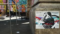 (Gabri Le Cabri) Tags: paris pasteup colors miguel truck graffiti stencil couple market charlotte dancer tango van 75018 glc hess mordida sango gemo gabis paris18 gabrilecabri