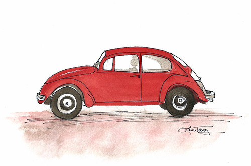 Red Punch Buggy