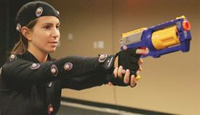 Motion Capture for video game, featured in Atlanta Journal & Constitution